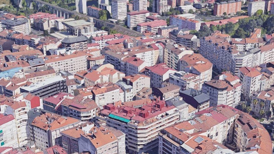Por encima de 5.000. La mayor densidad de Ourense esta entre las calles Noriega Varela y Celso Emilio Ferreiro.