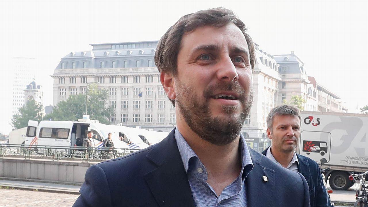 El exconsejero catalán, Toni Comín