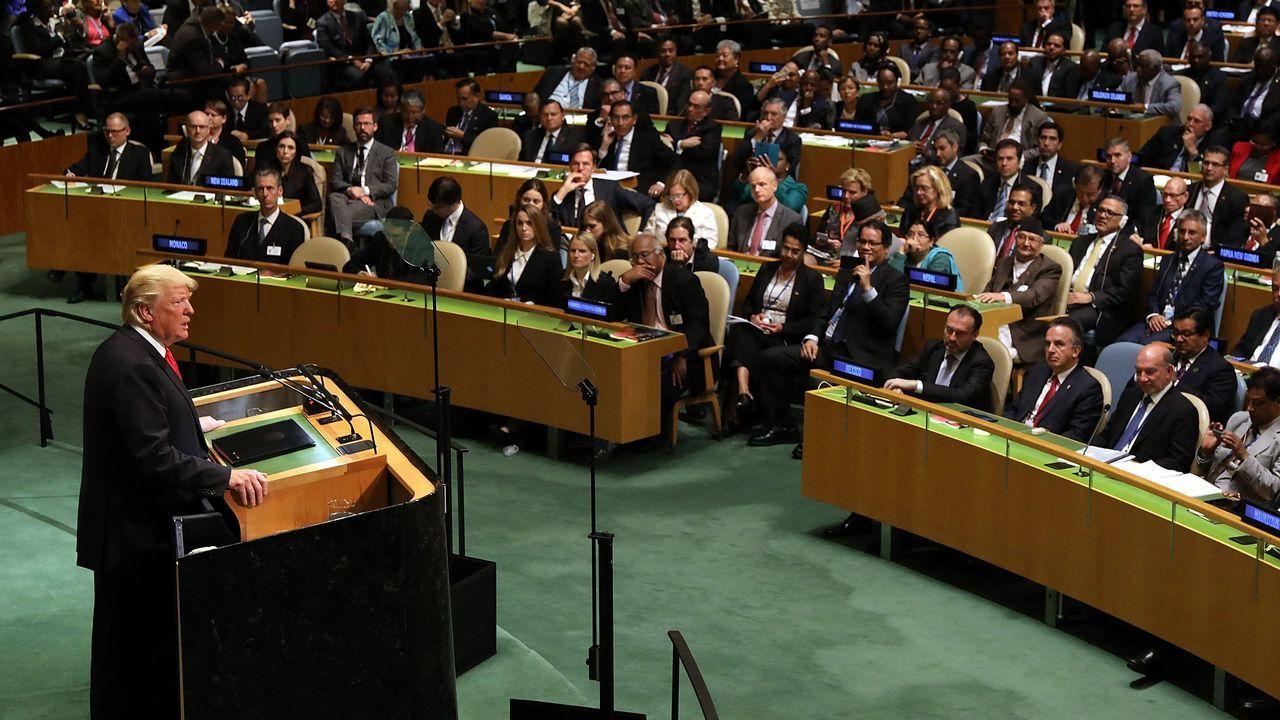 Pedro Sánchez, en la Asmablea General de la ONU