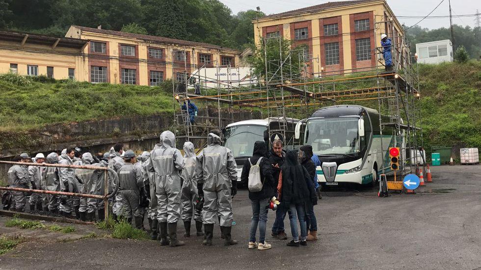 Indonesia se asoma otra vez al espanto.Rodaje de «La Zona» en Asturias