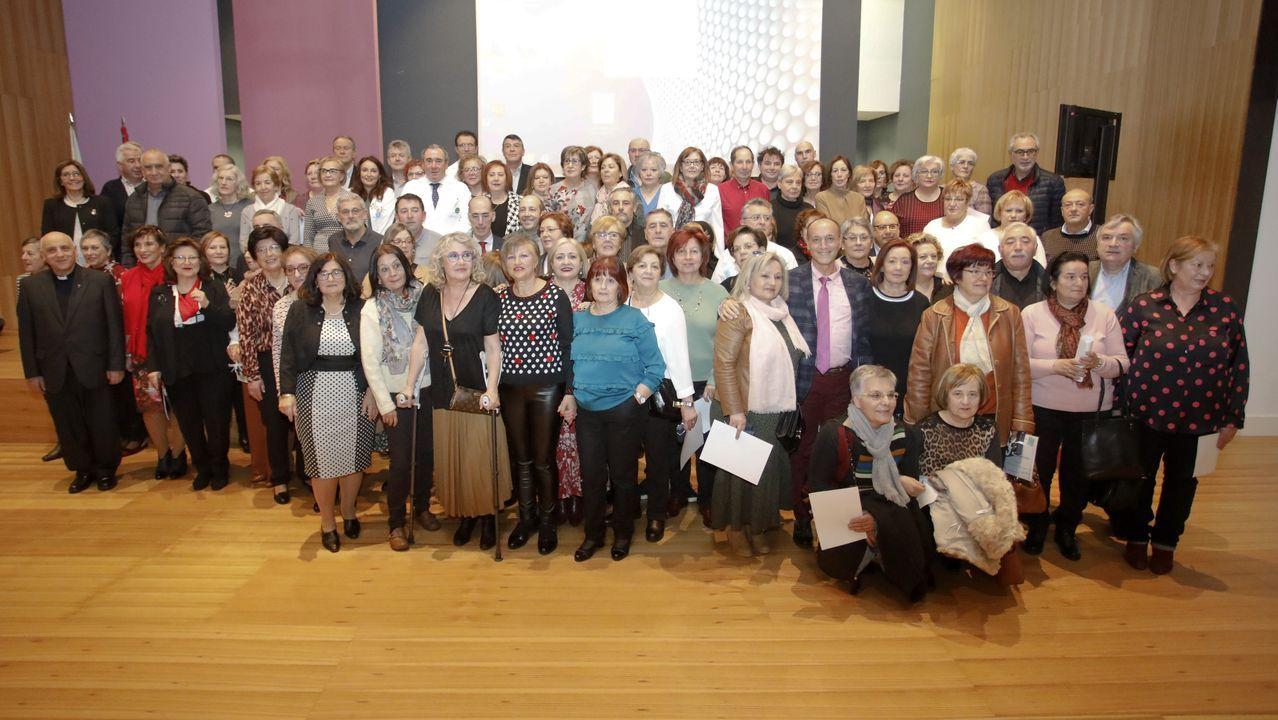 El Sergas homenajea a los trabajadores que se jubilaron en el 2019.La Tradescola organiza desde hace años conciertos didácticos para escolares