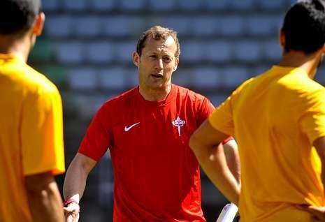 Manolo García ha trabajado muy duro con el equipo en toda la pretemporada.
