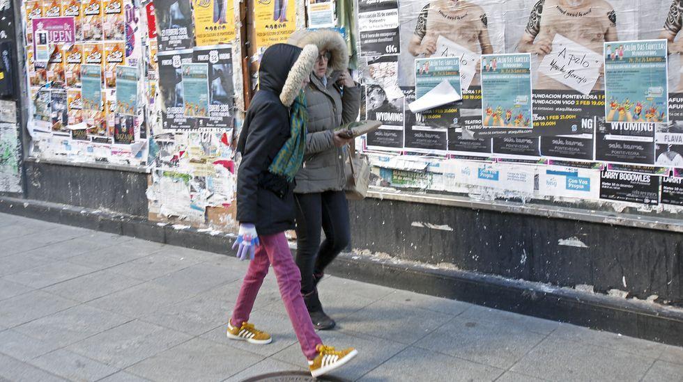 Frío en Pontevedra