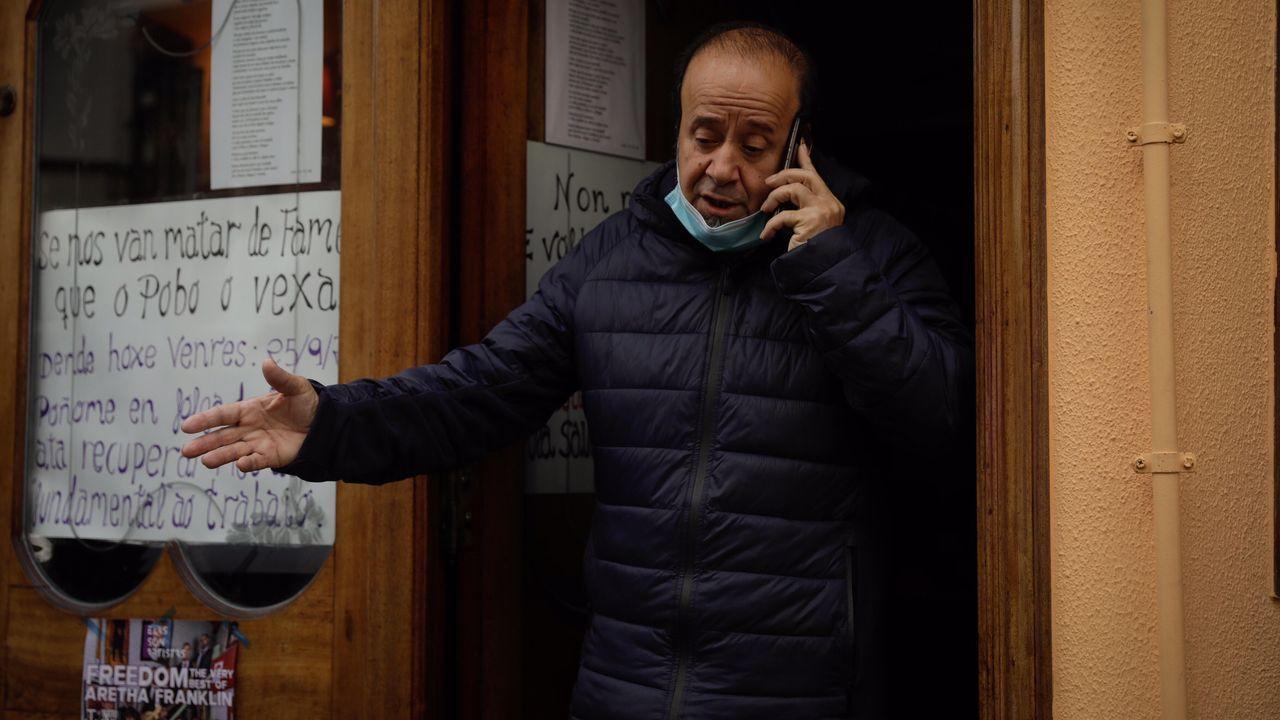 Termina la huelga de hambre de Lolo Villaverde, que podrá abrir como cafetería
