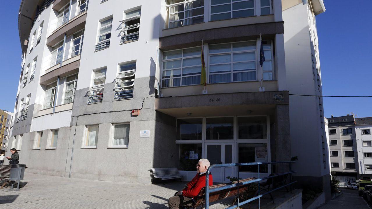 El geriátrico público de Burela, en una imagen de archivo