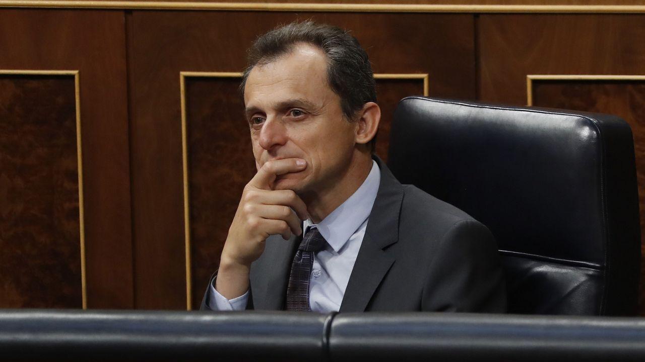 Pedro Duque: «da miedo que te puedan sacar cosas de la infancia».José Miguel Mulet