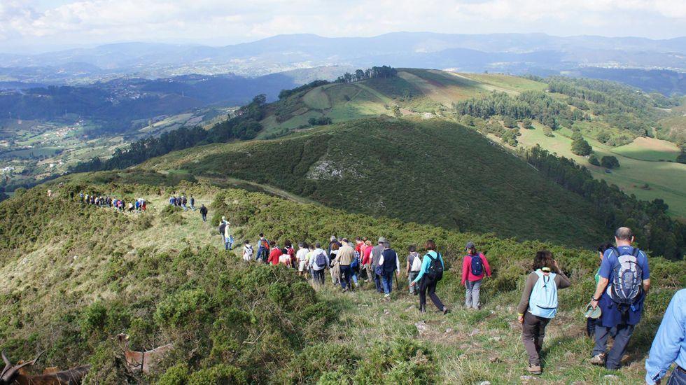 Ruta por el Monte Naranco
