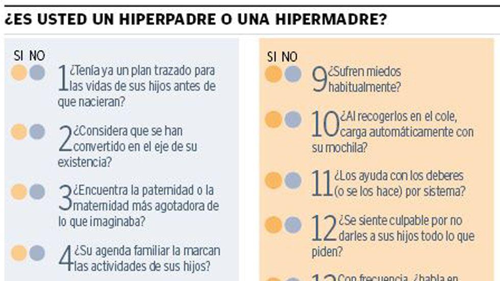 ¿Eres un hiperpadre o hipermadre?