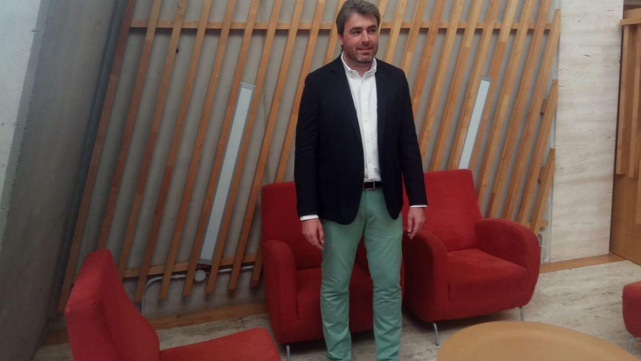 Facebook.Nacho Calviño, presidente de la Asociación de Jóvenes Empresarios y pregonero del Carmín de la Pola 2019