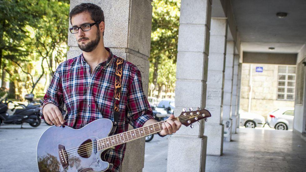 Lugo llora la muerte del músico de la eterna sonrisa.Withers, en una imagen del 2015
