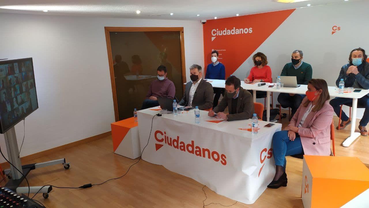 Junta directiva del comité autonómico de Ciudadanos en Asturias