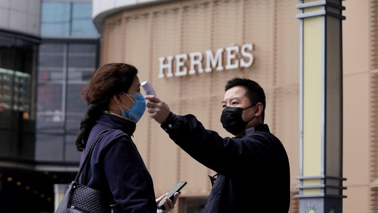 En China, una tienda de Hermés facturó 2,5 millones de euros el día de su reapertura