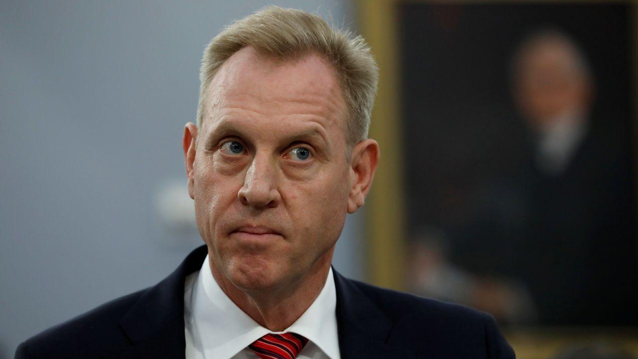 El secretario de Defensa de EE.UU., Patrick Shanahan