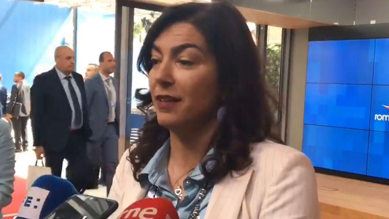 María José Rienda, presidenta del Consejo Superior de Deportes