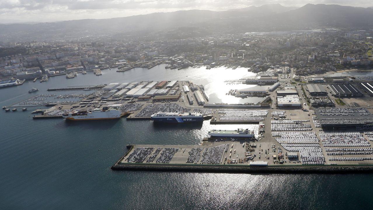 Puertos del Estado gestiona varios muelles en Galicia; entre ellos, el de Vigo, en una imagen de archivo