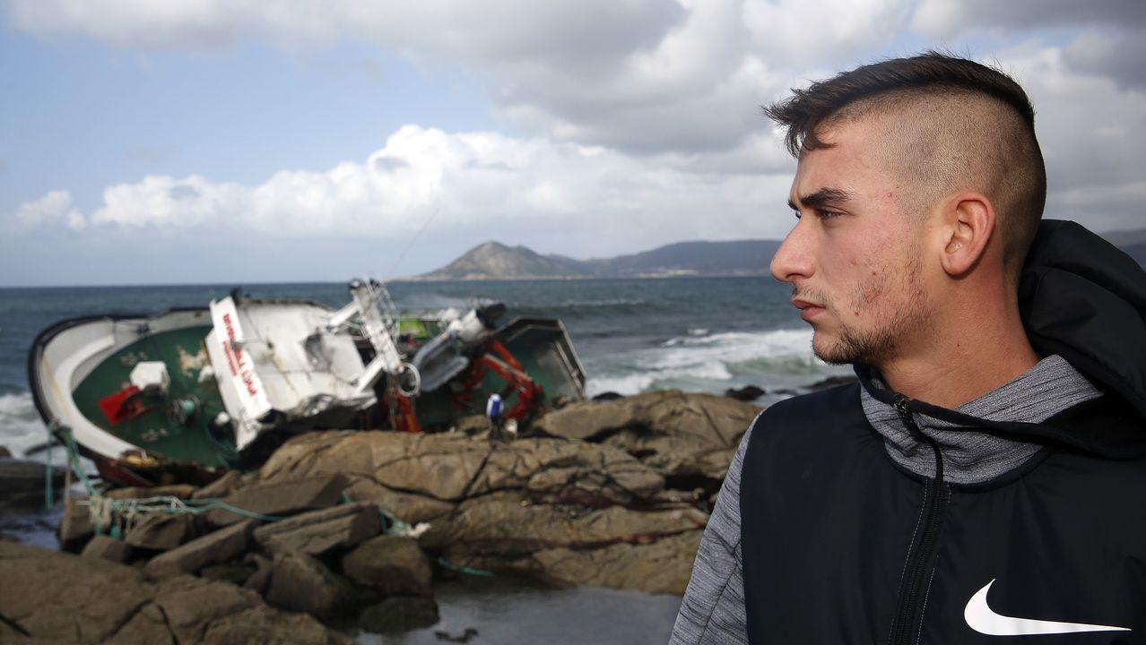 Testimonio de Juan Perol, que ayudó a rescatar a cuatro náufragos del Divina del Mar