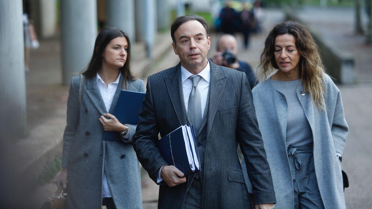 El abogado de los padres de Diana Quer llega a los juzgados