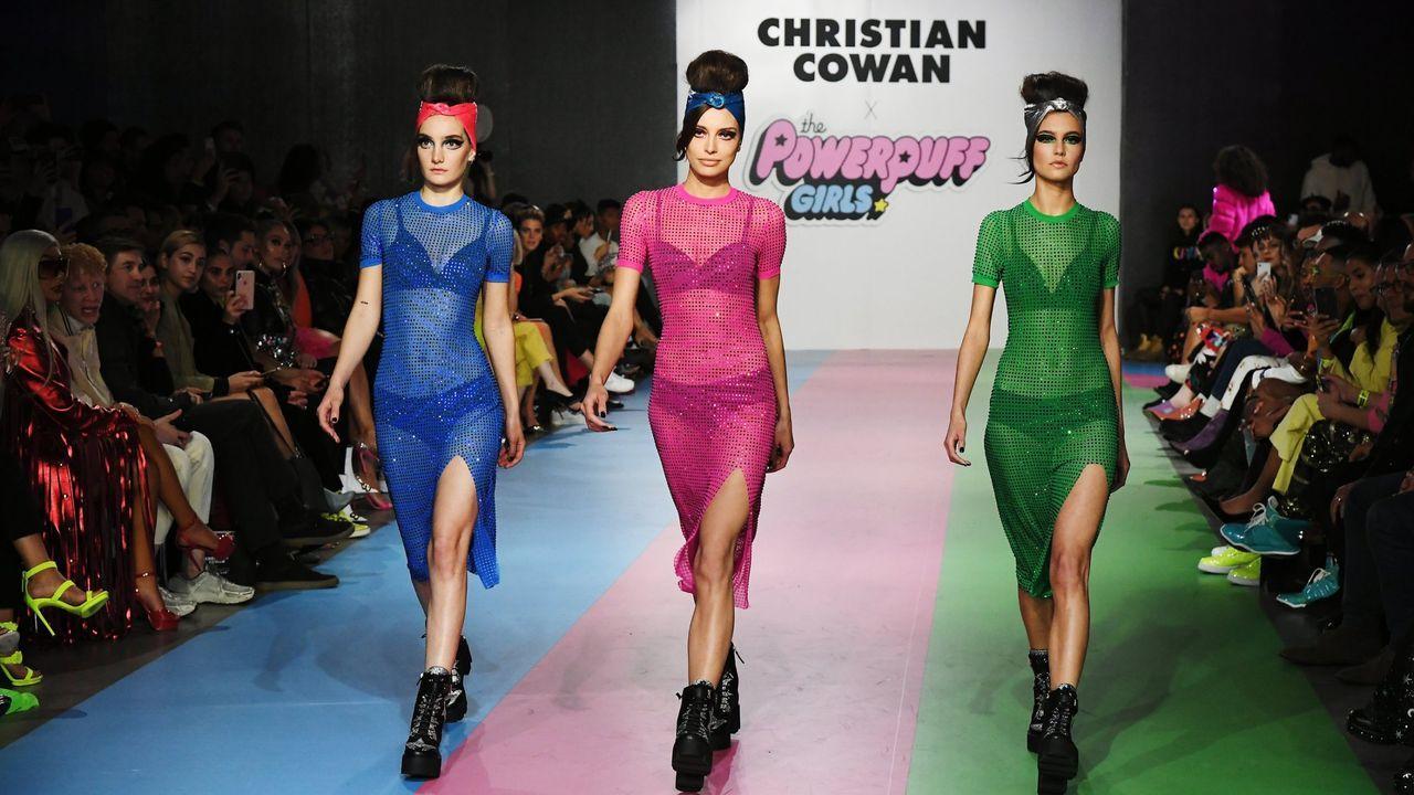 cowan.Cowan-Sanluis ha participado en los últimos desfiles de la New York Fashion Week y también de la pasarela londinense