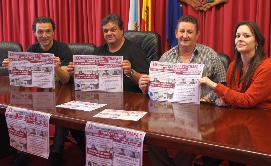 El festival laxense Teatrapa fue presentado ayer