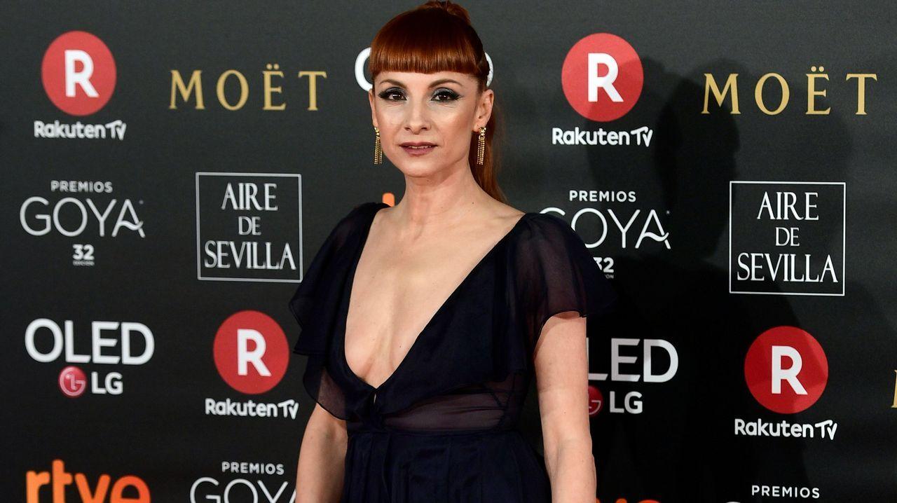 Maria Botto.La actriz española Najwa Nimri