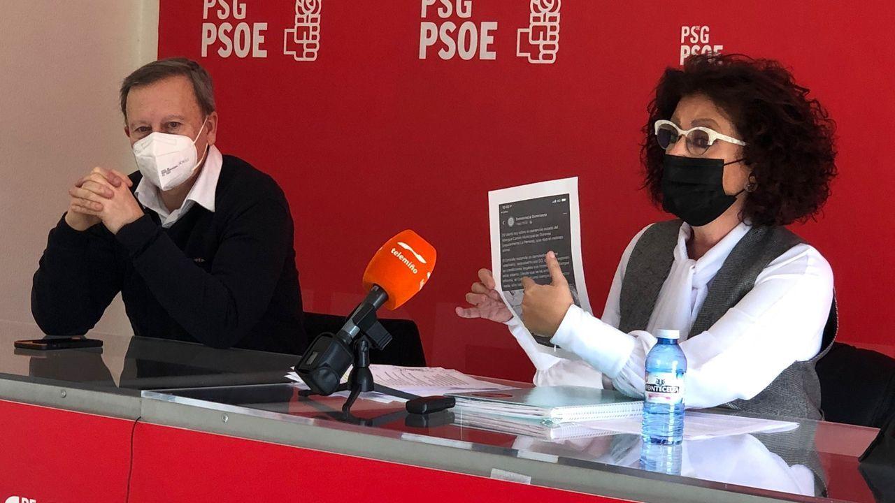 Rafael Rodríguez Villarino y Concha García (PSOE)