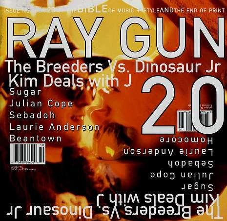 Los Critics' Choice en imágenes.Portada de «Ray Gun» de Carson.