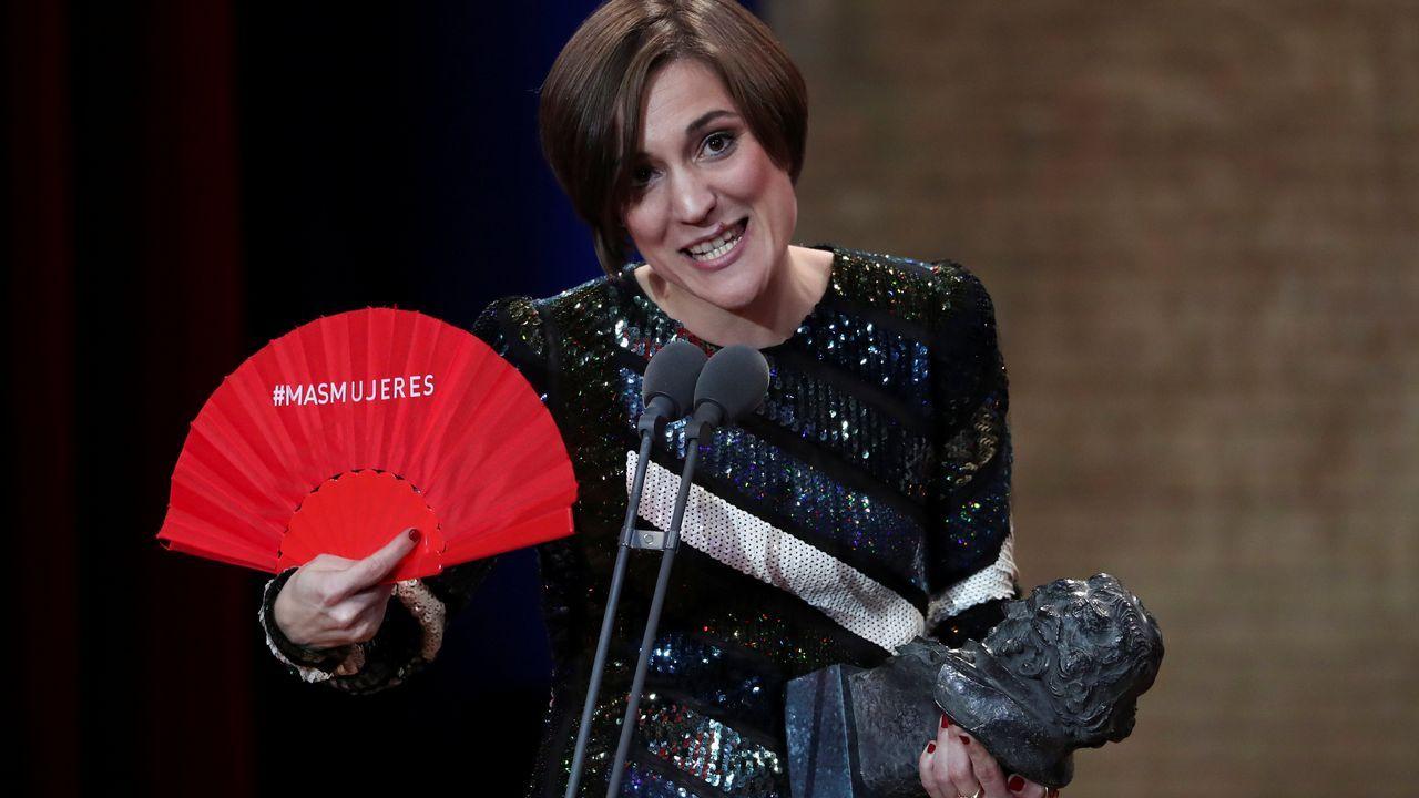 Carla Simon recoge su premio a mejor dirección Novel por Verano 1993