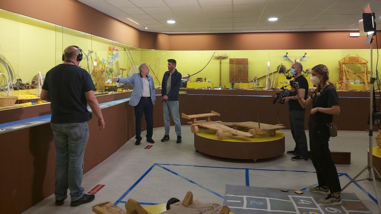 Echaron a andar las jornadas Parque do Megalitismo ¡Las imágenes!.Imagen de archivo de un helicóptero de Salvamento Marítimo
