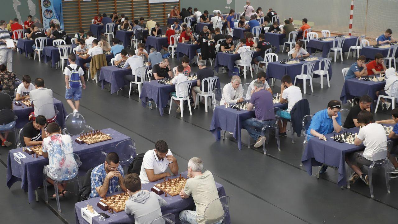 Imagen de archivo del Torneo Internacional de Rianxo