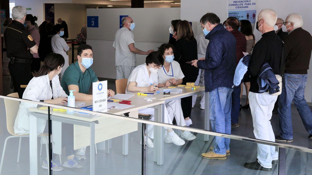 Administración de vacunas en Asturias