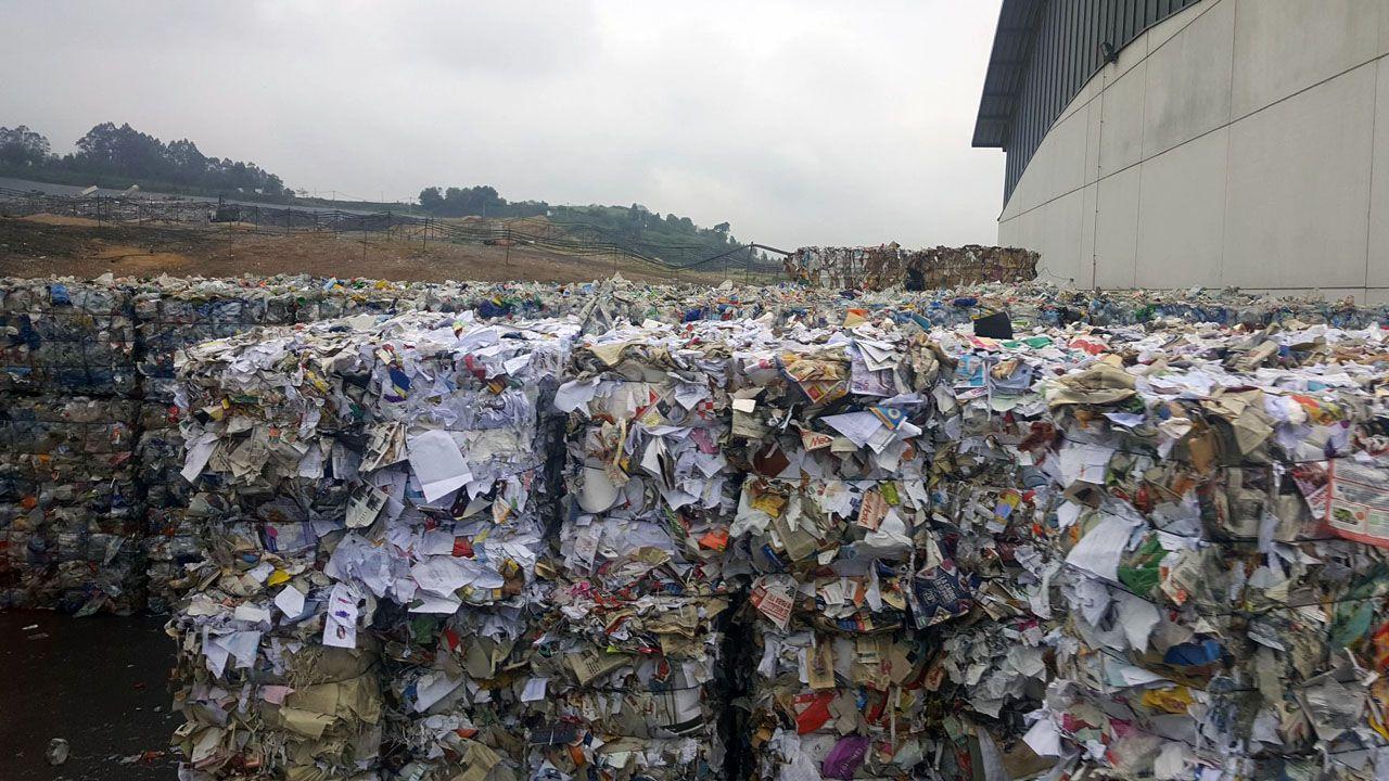 Asturias, de cascada en cascada.El vertedero de Cogersa, que recoge residuos de toda Asturias