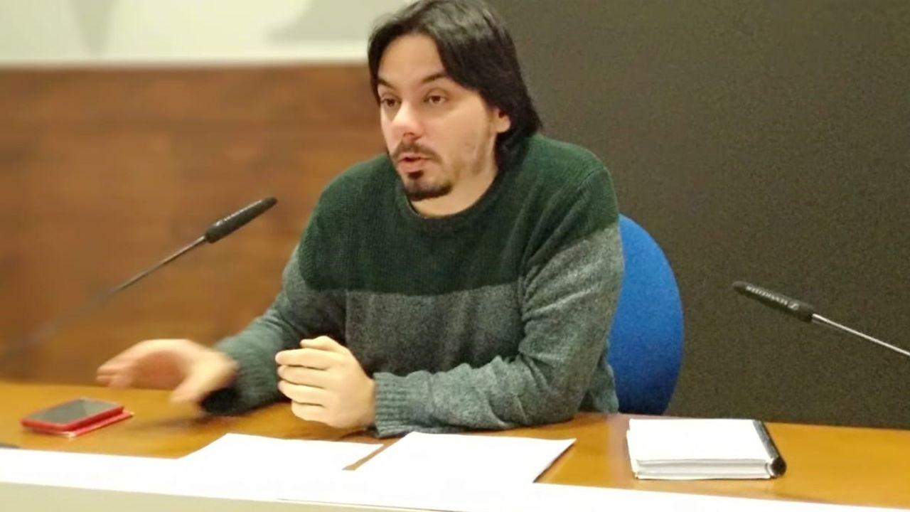 Ignacio Fernández del Páramo, concejal de Urbanismo del Ayuntamiento de Oviedo