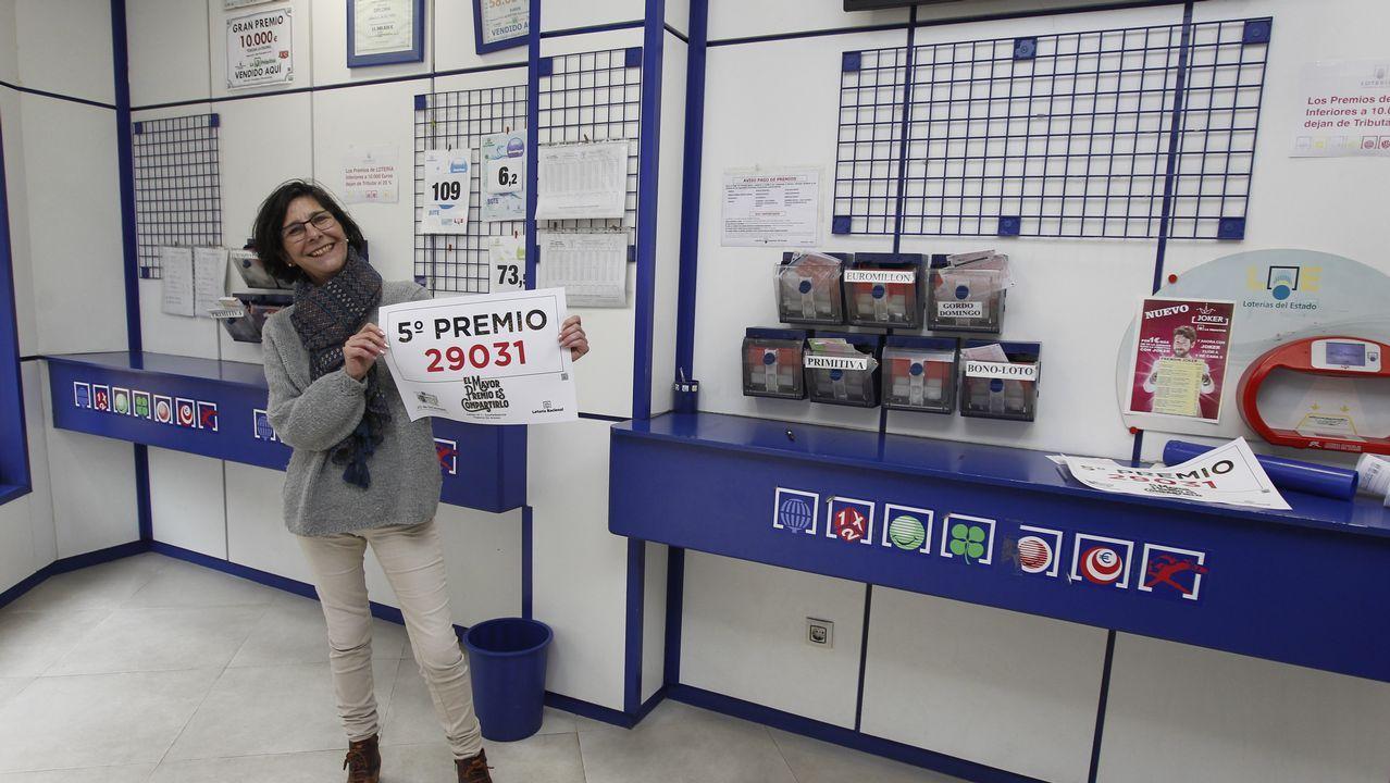 La administración nº1 de Vilanova repartió un quinto premio.