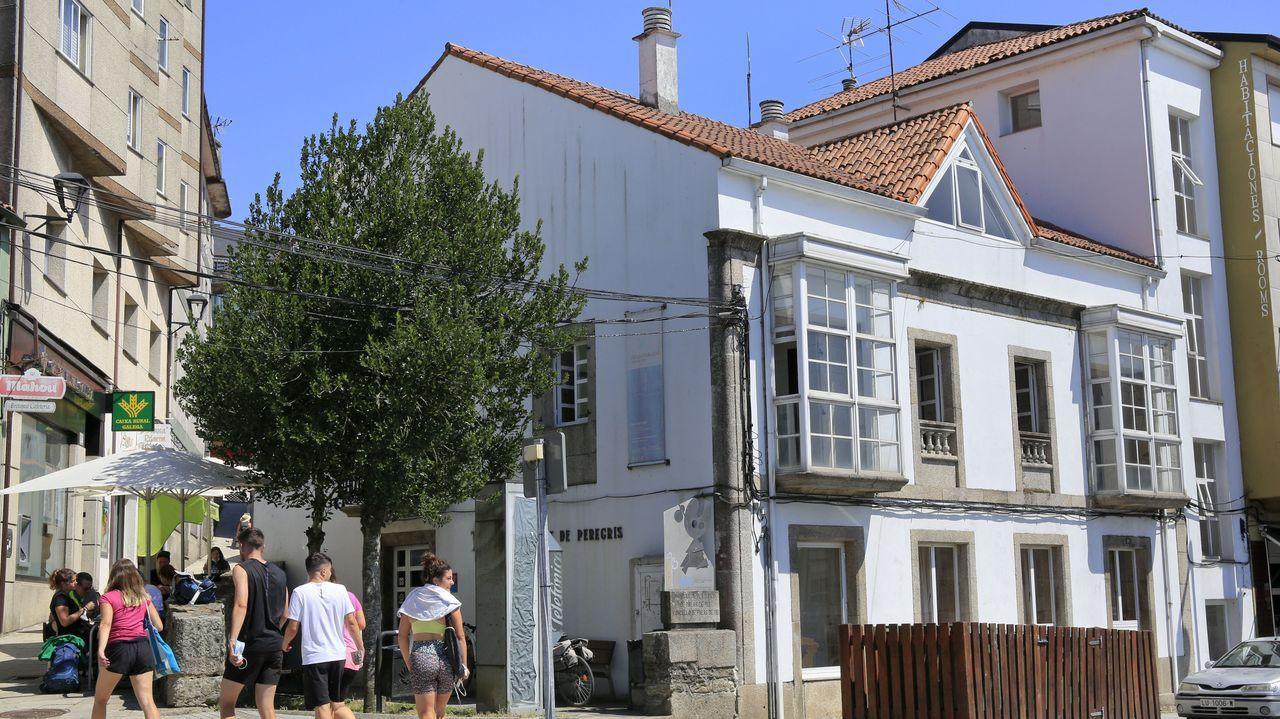 Los peregrinos están confinados en el albergue de la Xunta en Palas de Rei