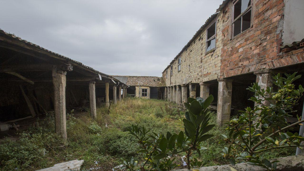Antigua fábrica de salazón de Santiago Insua Esmorís-Recamán de Fisterra