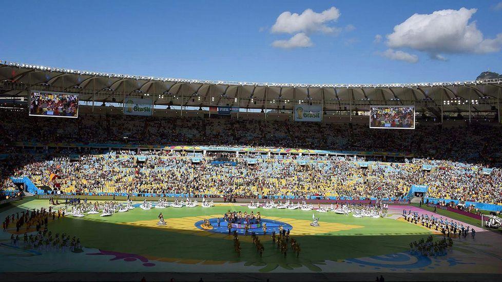Maracana, en la final del Mundial 2014