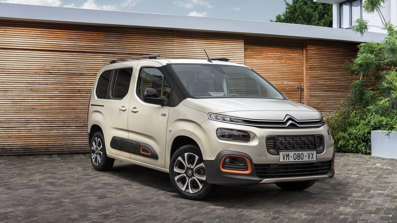 Así luce la nueva Citroën Berlingo.Carlos Tavares, consejero delegado del PSA Peugeot Citroen