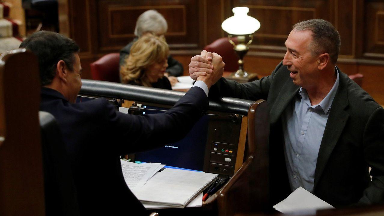 Núñez Feijoo: «Galicia no va a quedarse sin lo que le corresponde».Compromís tiene un único diputado en el Congreso —igual que el BNG—, pero Joan Baldoví convirtió la reforma de la financiación autonómica en la clave del acuerdo de investidura con los socialistas