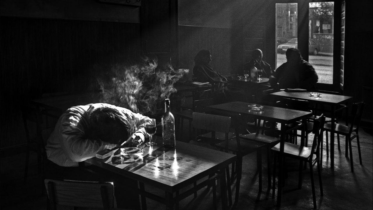 Bar Casa Arias. Sama de Langreo. Asturias (1987)