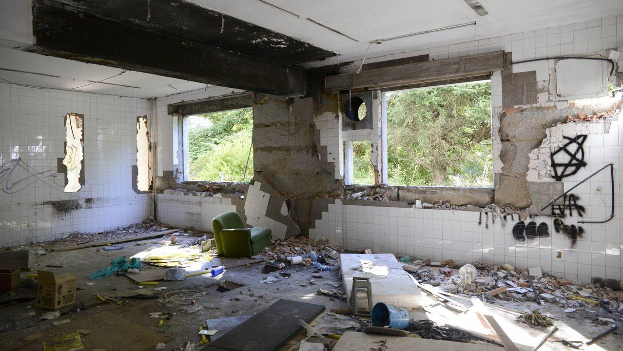 Instalaciones abandonadas del psiquiátrico de Toén