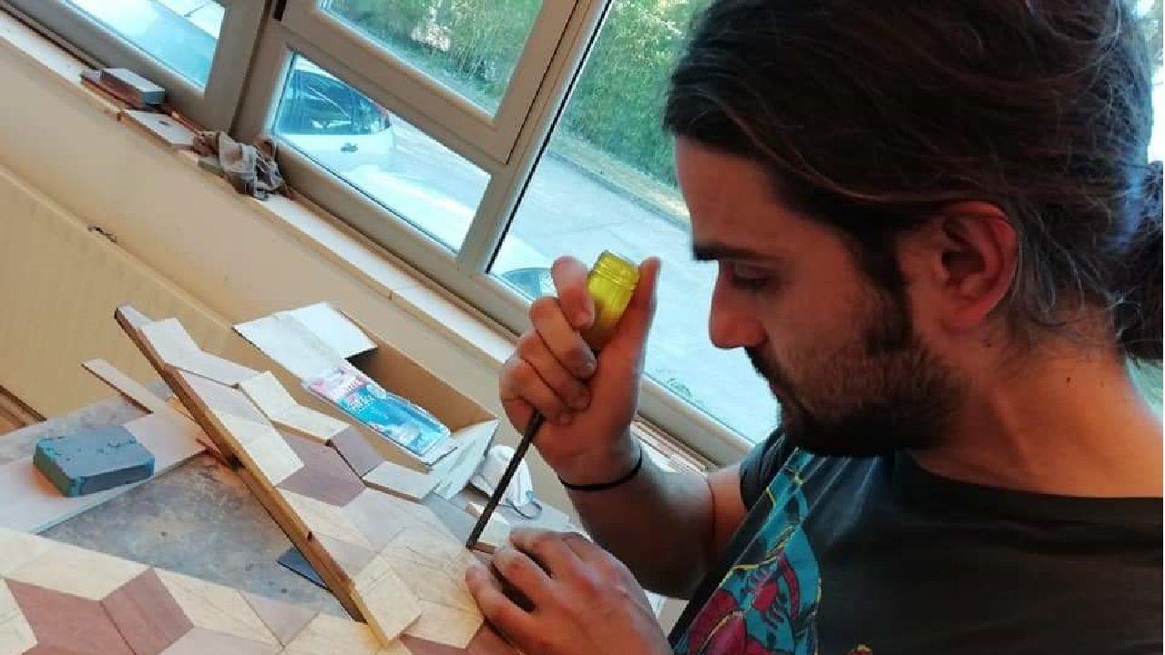 Xoves de Comadres en la comarca de Lemos.Manuel González abrirá este verano un taller de artesanía en la parroquia soberina de Liñarán