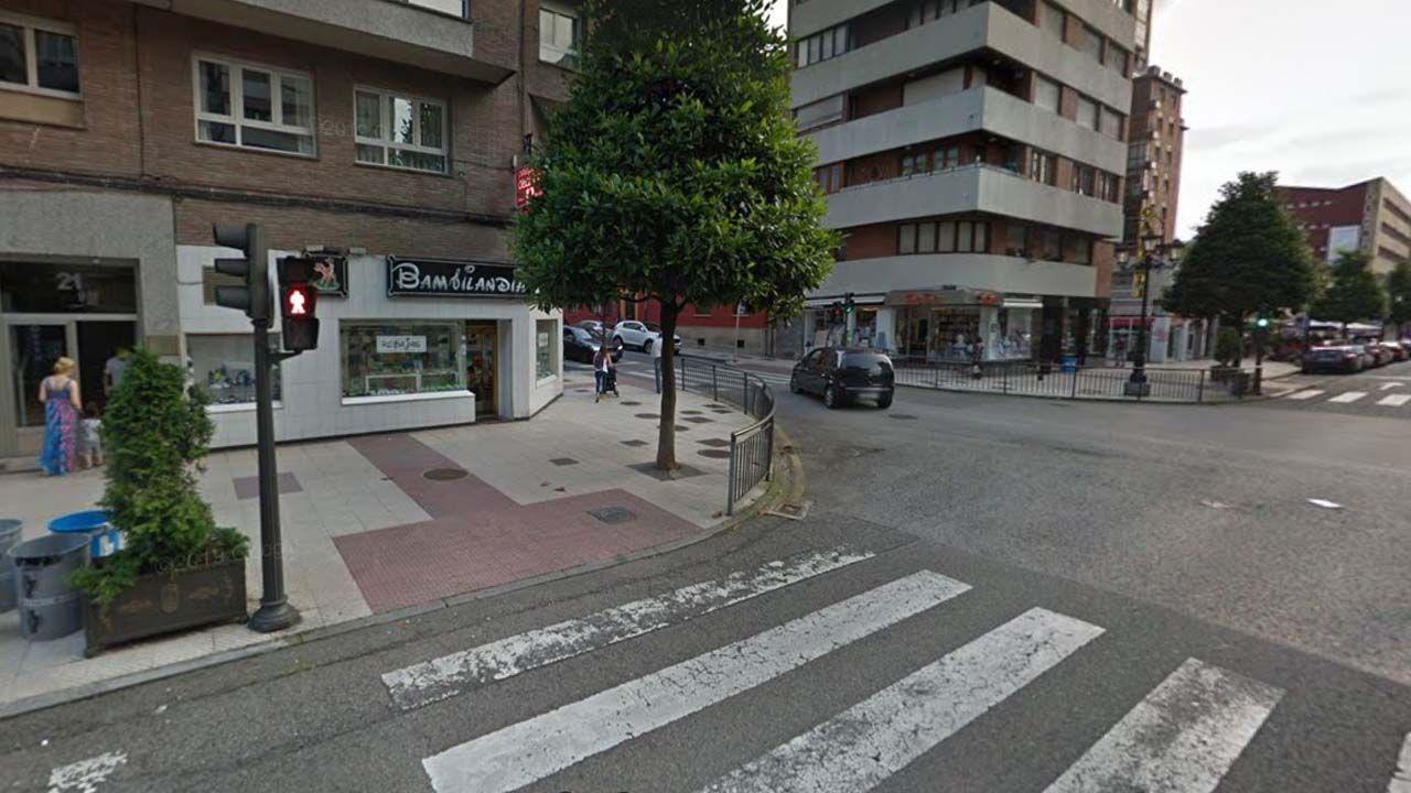 Calle Valentín Masip con Silla del Rey