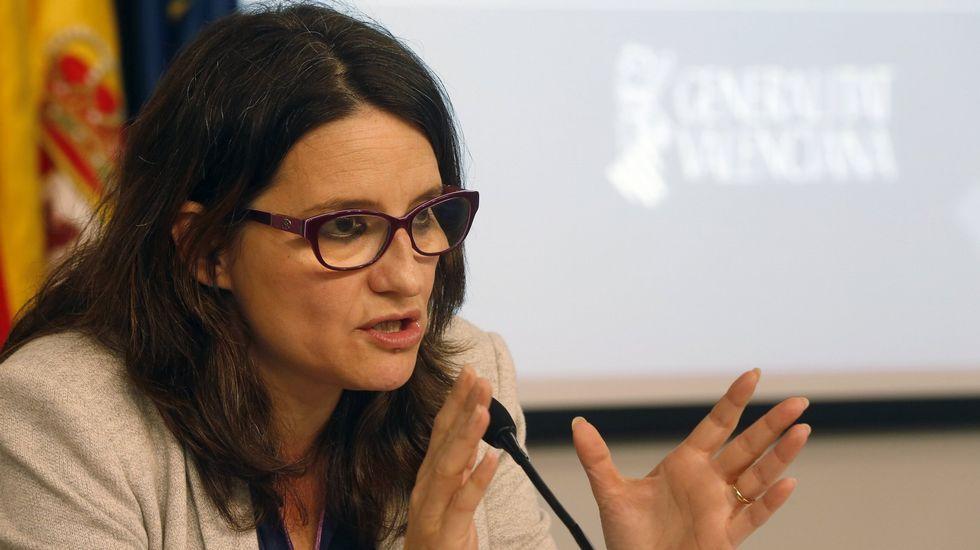 Oltra dice que lamenta el nombramiento del marido de la consellera Montón como gerente de Egevasa