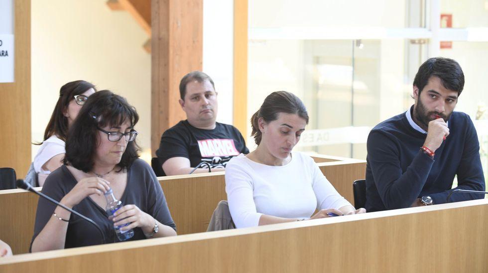Más vacunación masiva en el recinto ferial de Pontevedra.Luis Bará (en la imagen en una intervención en una sesión parlamentaria anterior) fue el encargado de defender la propuesta del BNG