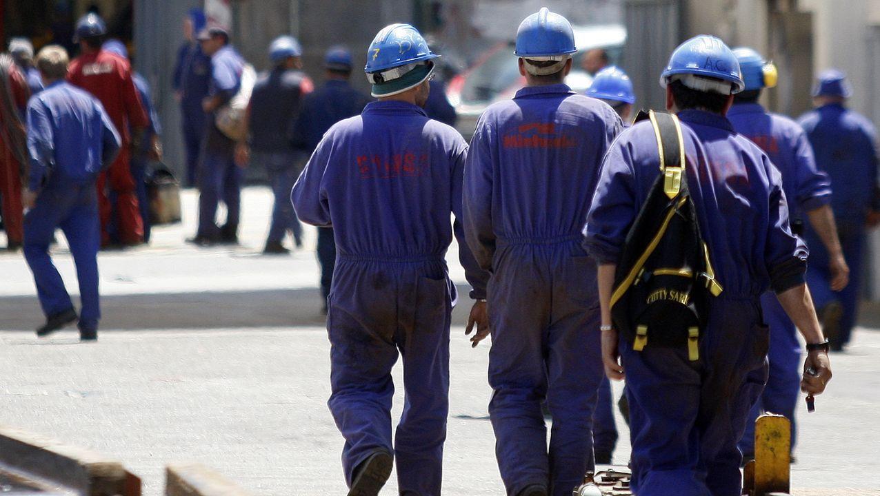Trabajadores del metal en Barreras