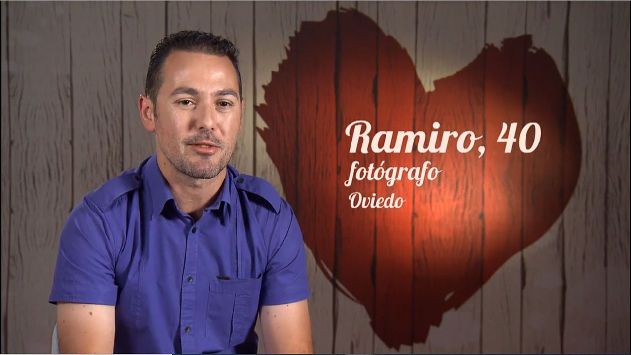 El ovetense Ramiro, en First Dates