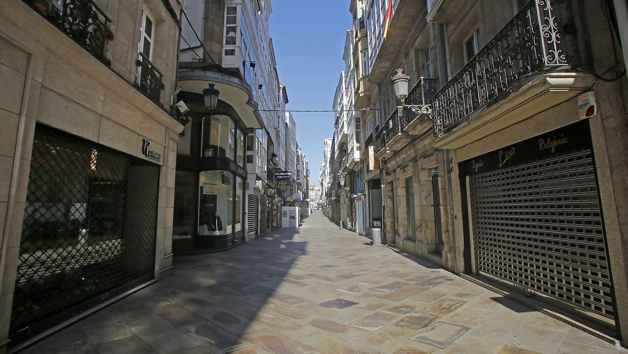 Calle Real (A Coruña).
