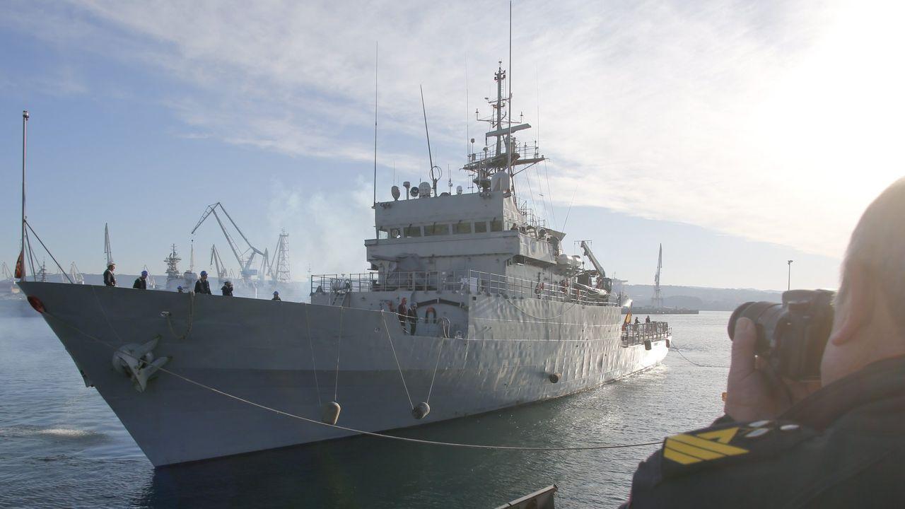 Recepción a los futuros oficiales de la Armada.Las Fuerzas Armadas de Malta difundieron las imágenes del rescate de la lancha neumatica con un superviviente y un cadaver