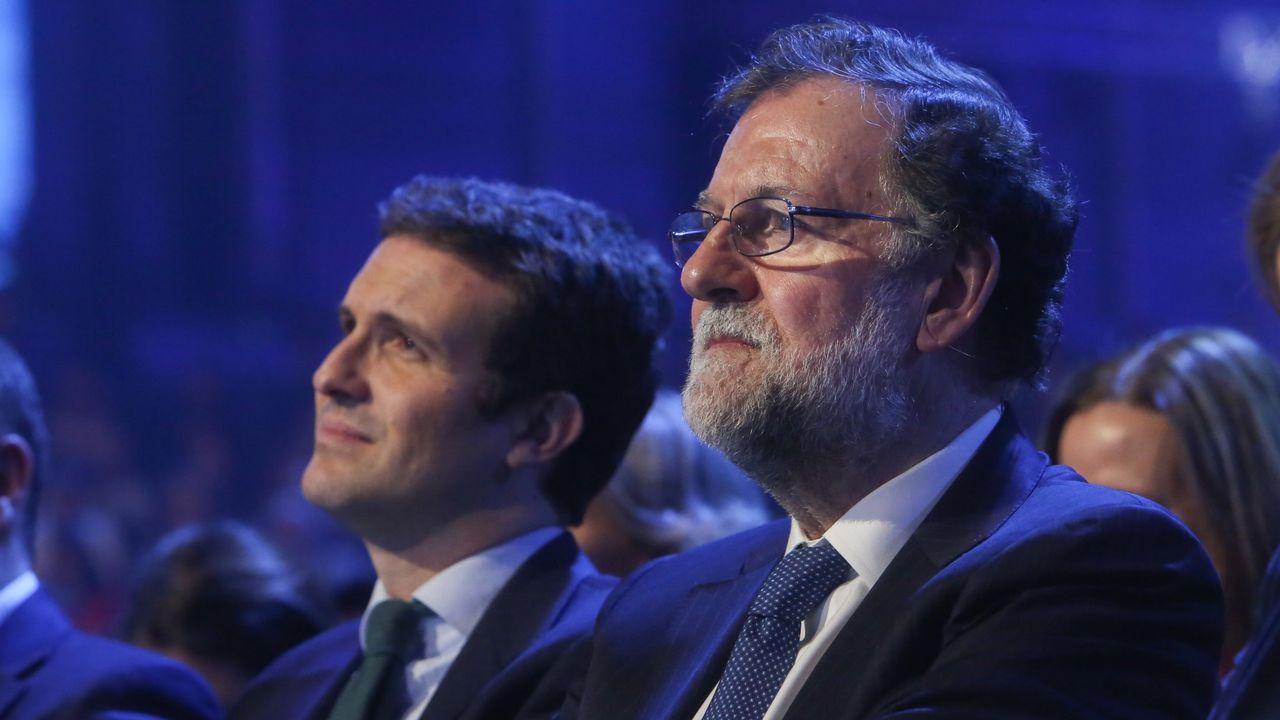 Rajoy: «Hasta para declarar la independencia hay que ser serios».Pilar de Lara llegando a los juzgados de Lugo, días después de confirmarse la sancion del CGPJ