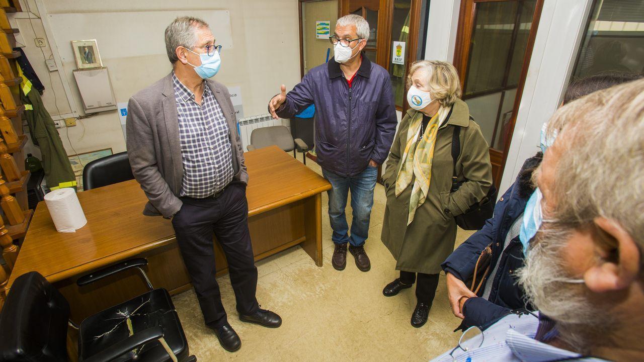 La Costa da Morte se volcó con las mujeres víctimas de cáncer de mama.Mónica Rodríguez, en una visita a Radio Voz, antes de la pandemia